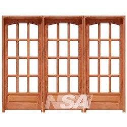 Puerta Chapa Simple Mod 002 Blanca Der