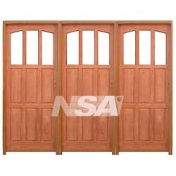 Puerta Chapa Simple Mod 002 Blanca Izq