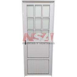 Puerta De Aluminio 1/2...